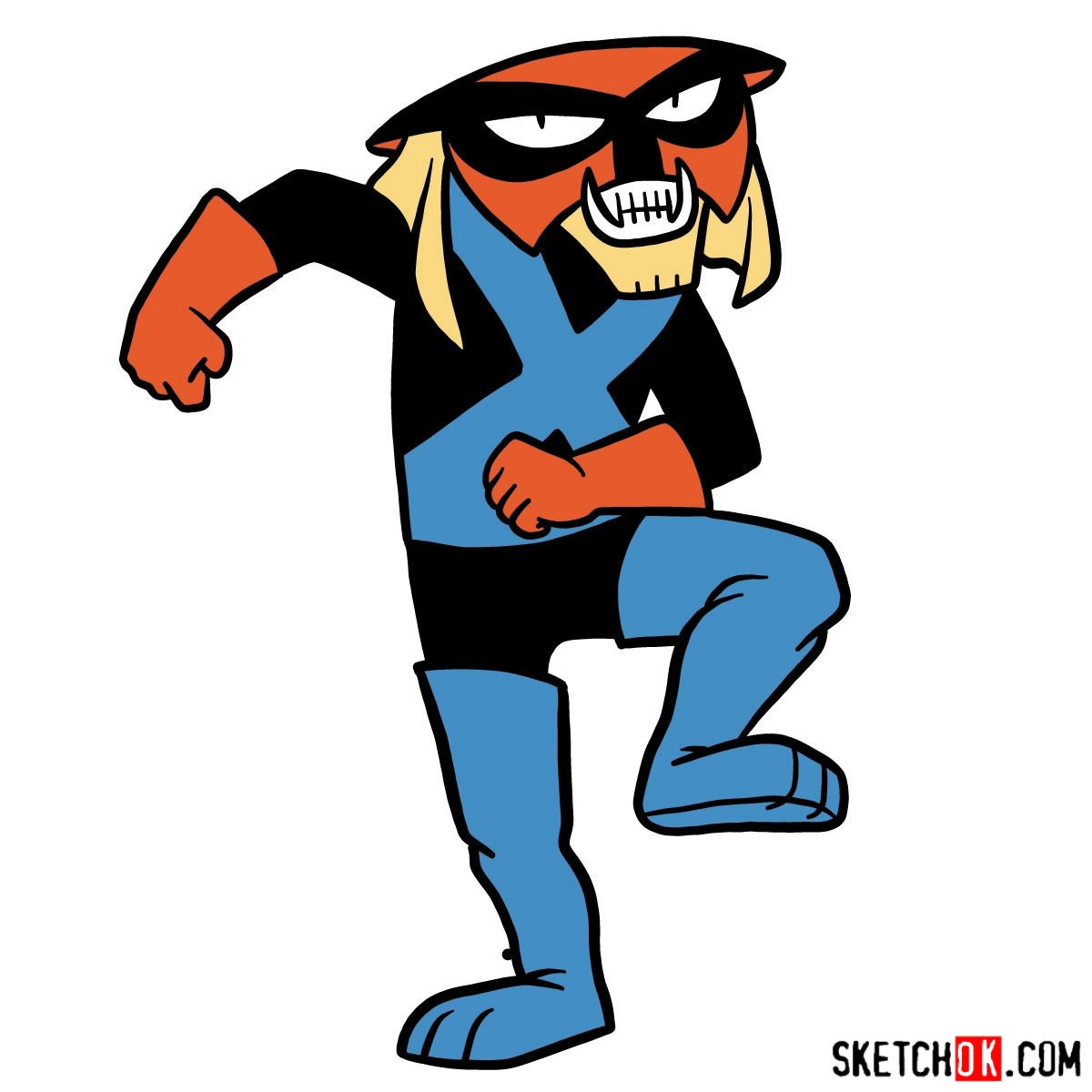 How to draw Brak