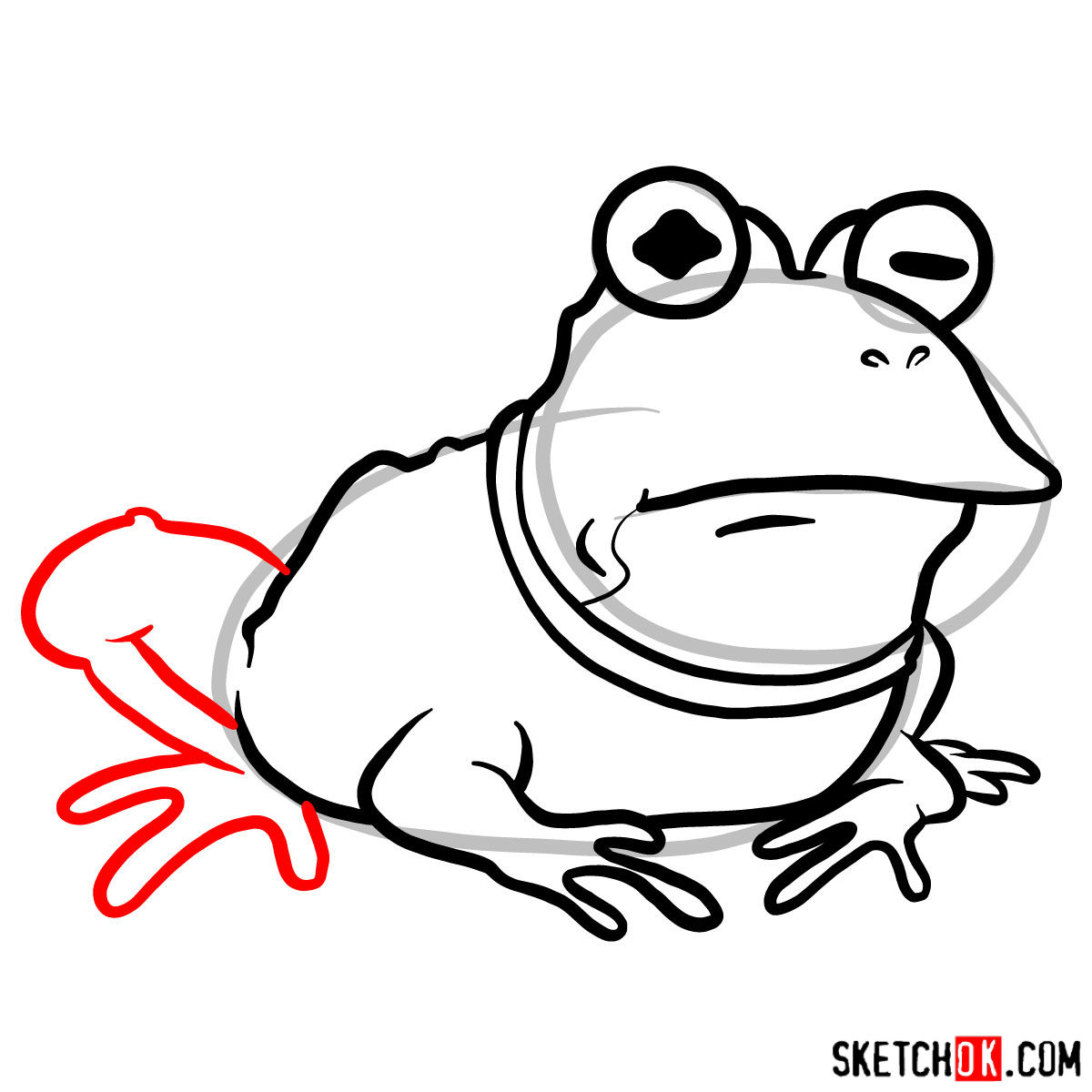 How to draw Hypnotoad from Futurama - step 08