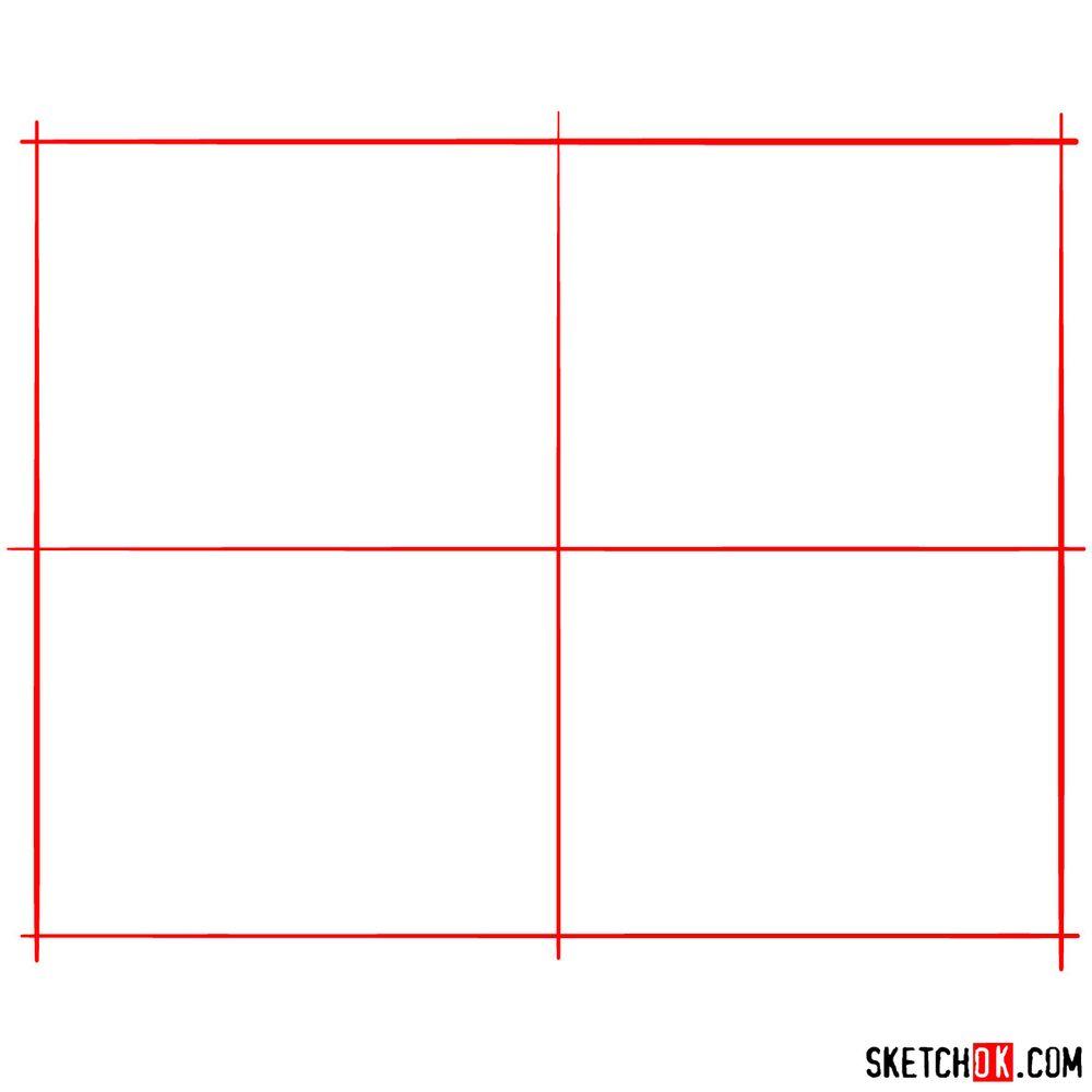 How to draw Abu - step 01