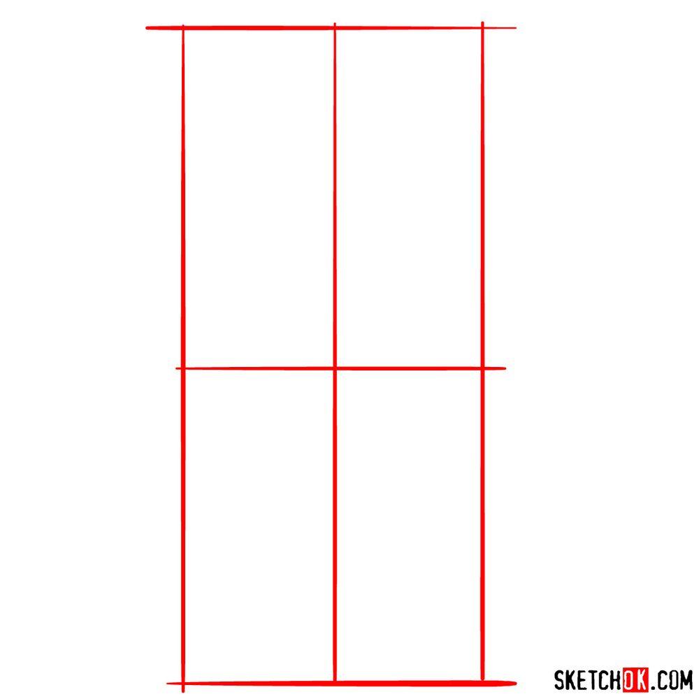 How to draw Jafar - step 01