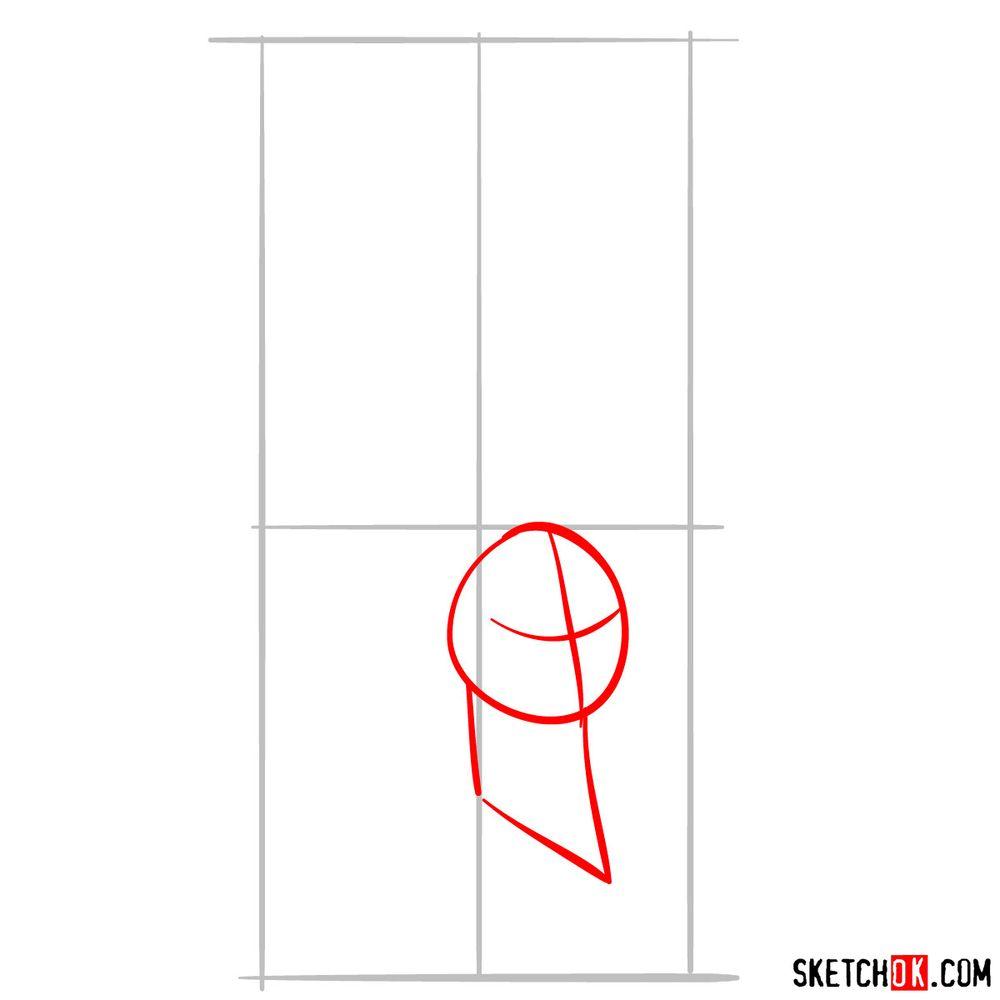 How to draw Jafar - step 02