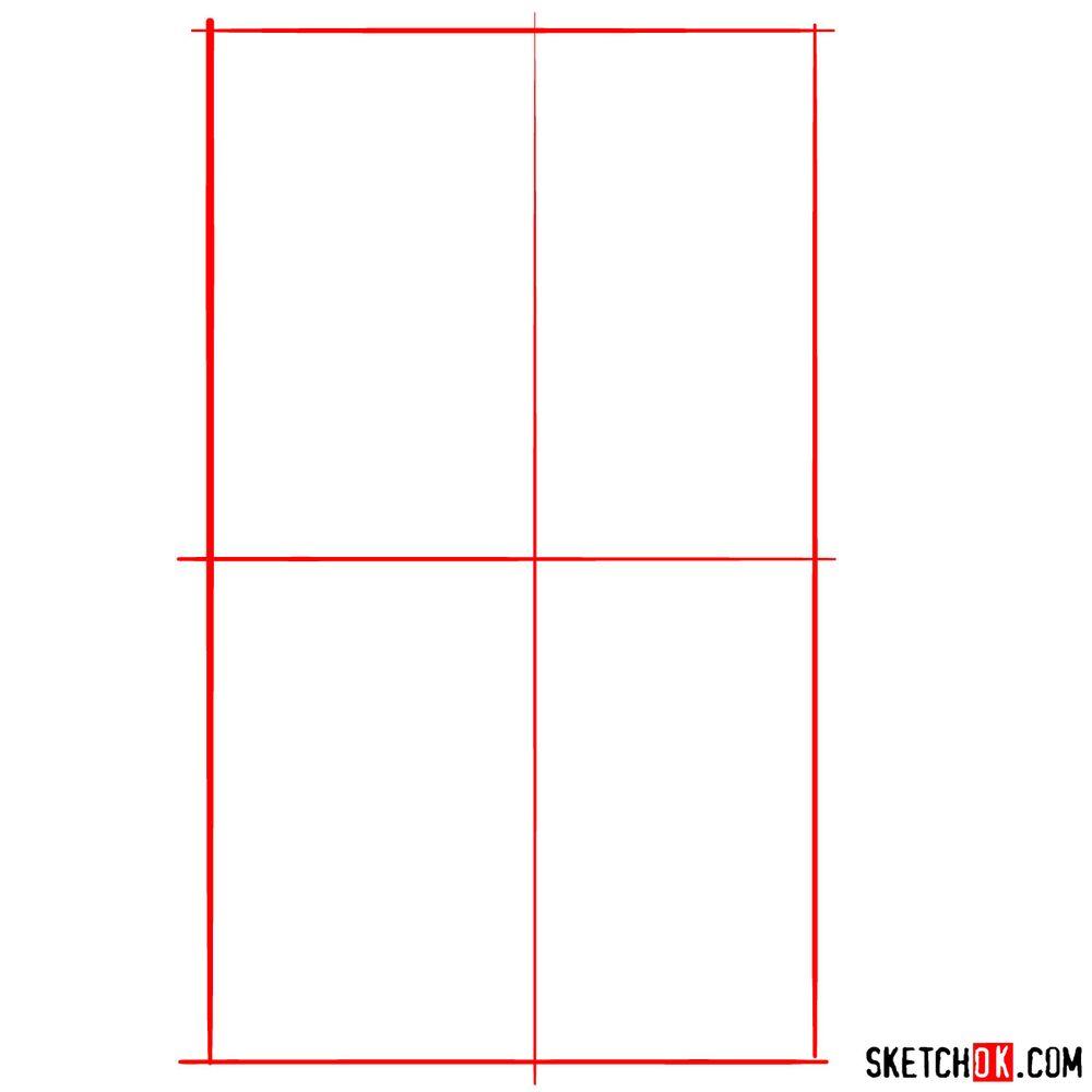 How to draw Jasmine - step 01