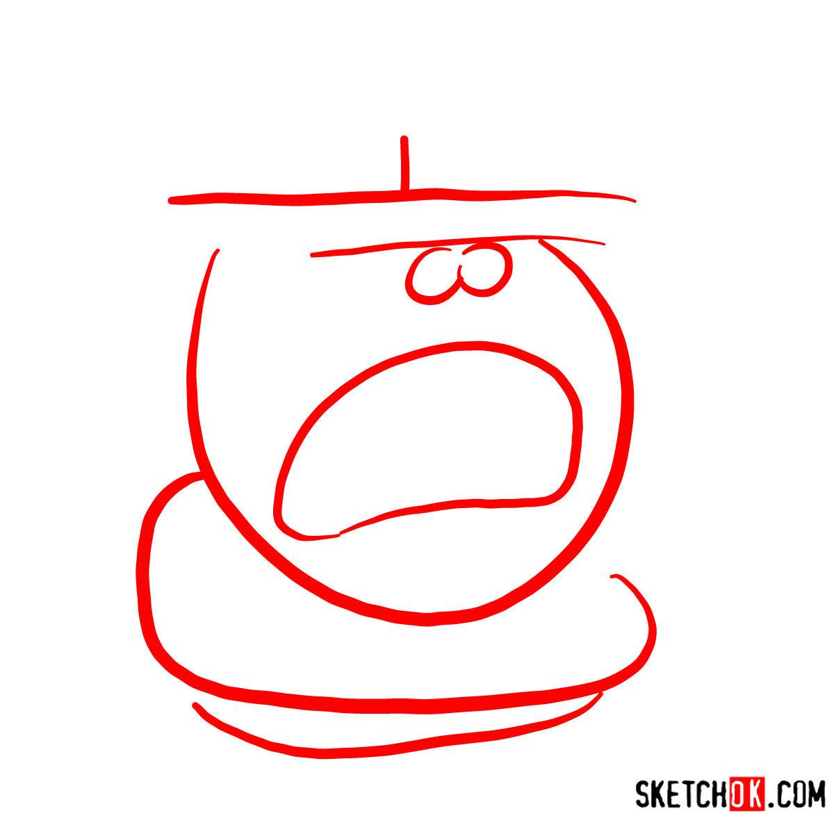 How to draw Stilton | Chowder series - step 01