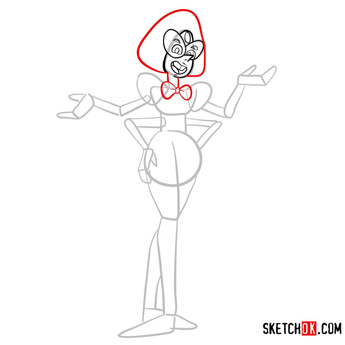 How to draw Sardonyx | Steven Universe - step 05