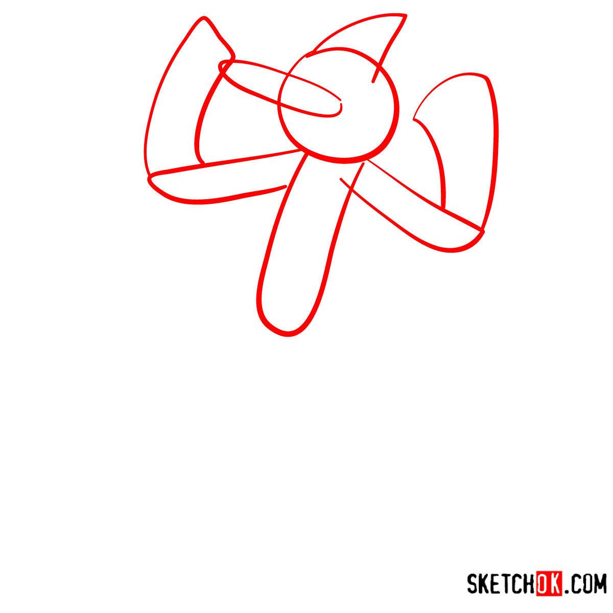 How to draw Mordecai | Regular Show - step 01