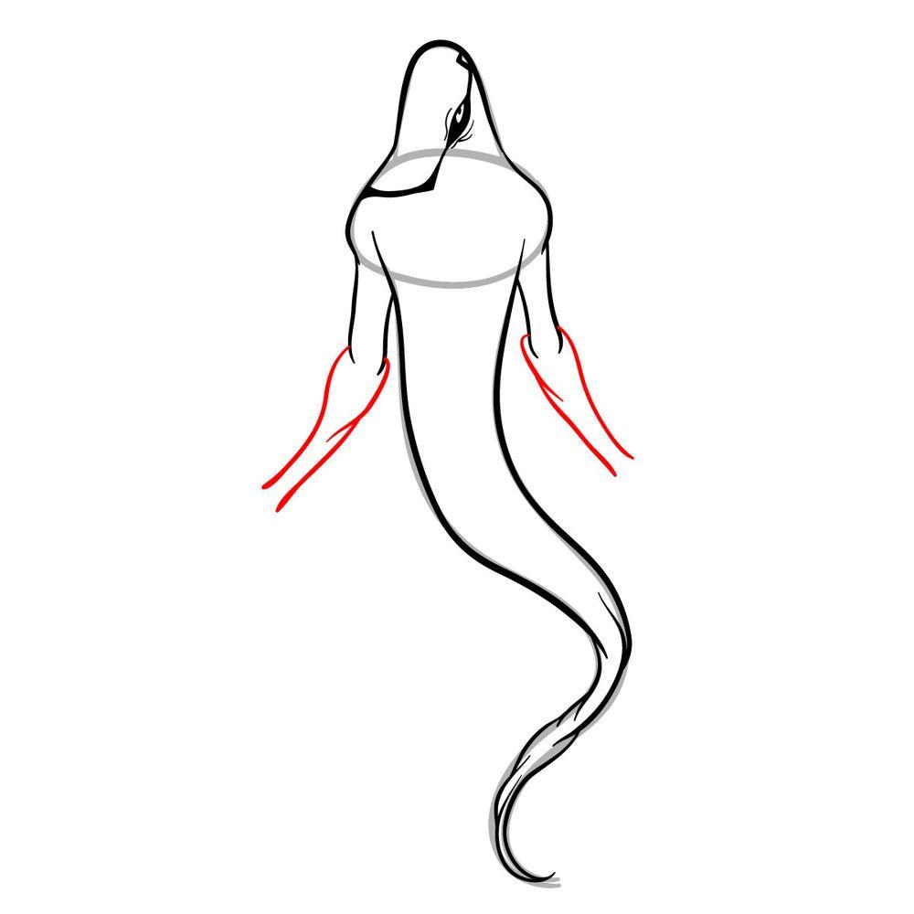 Draw Ghostfreak from Ben 10 in 18 steps - step 10
