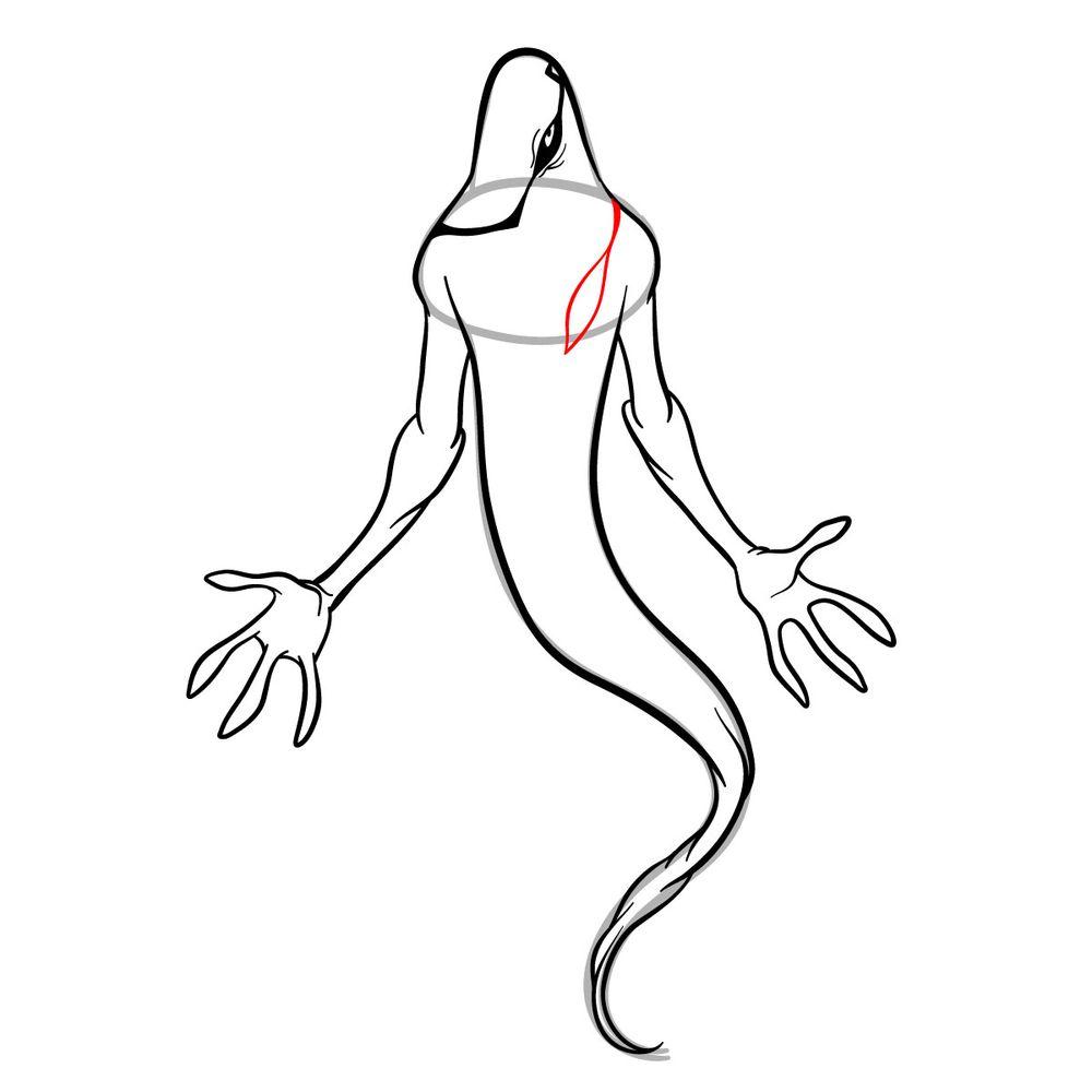 Draw Ghostfreak from Ben 10 in 18 steps - step 13