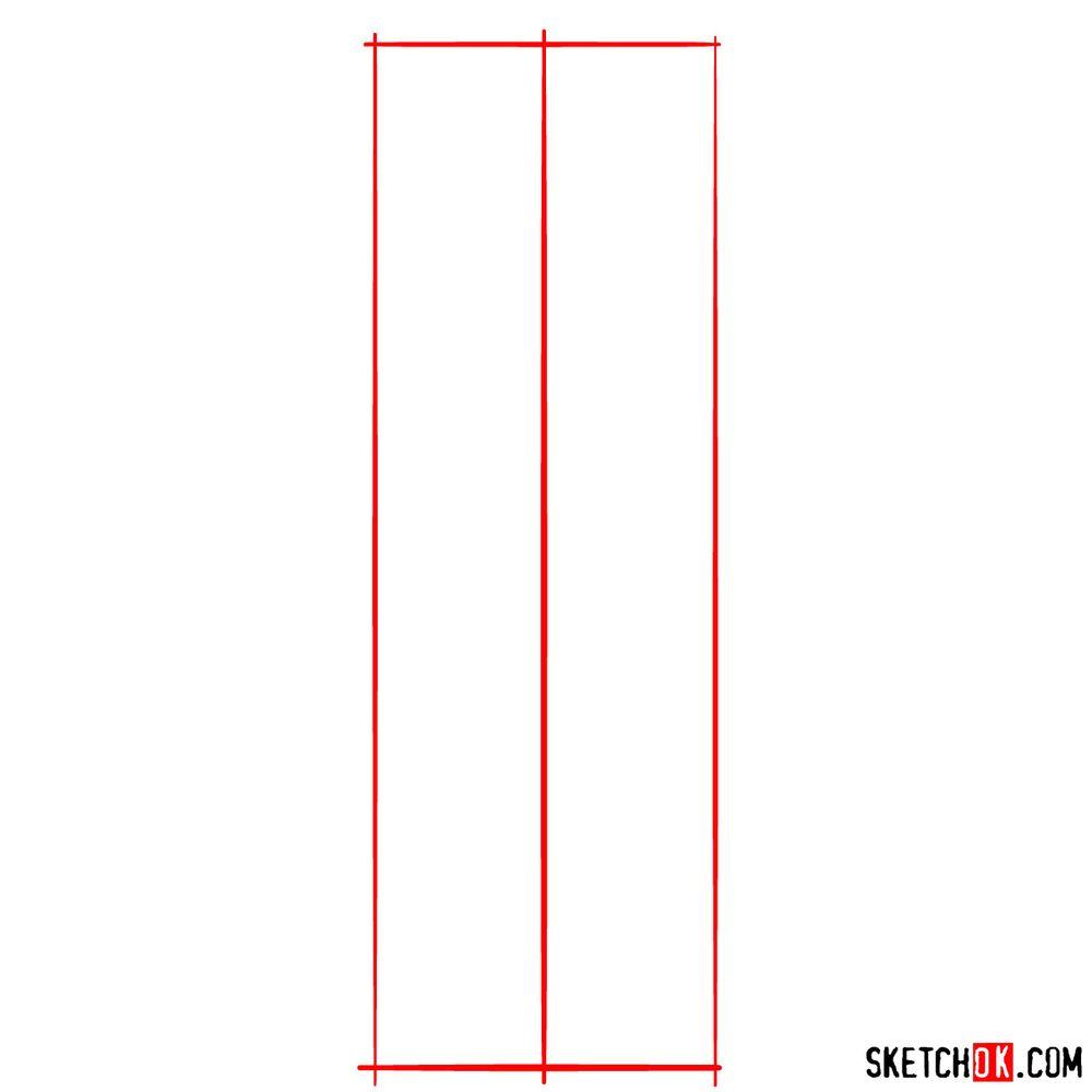 How to draw Bob Belcher - step 01