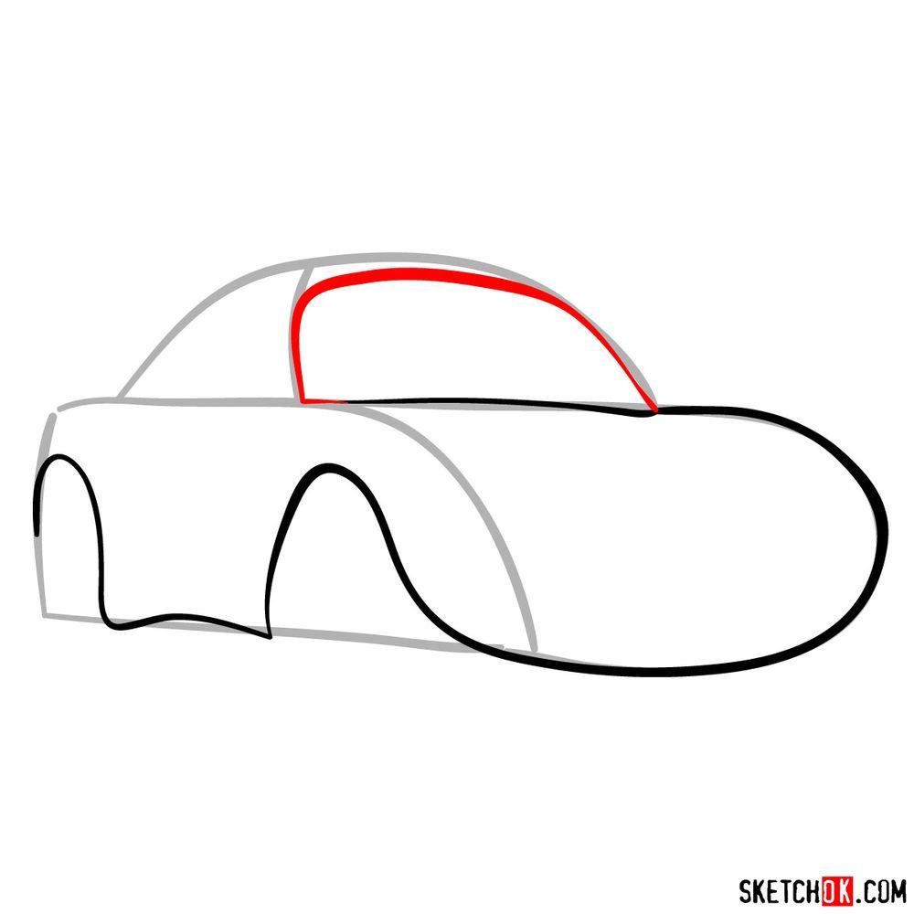How to draw Sally Carrera - step 04