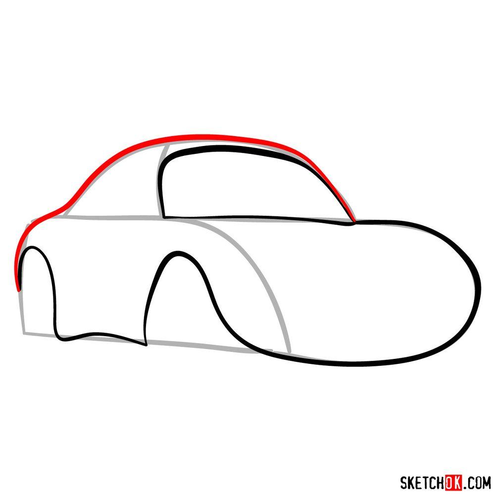 How to draw Sally Carrera - step 05