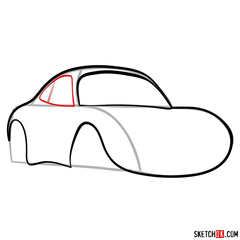 How to draw Sally Carrera - step 06