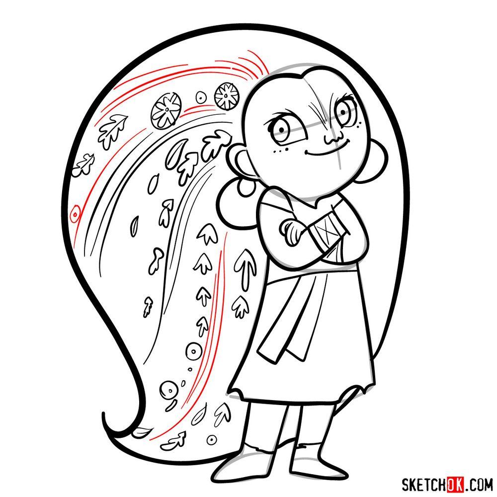 How to draw Mebh Og MacTire - step 15