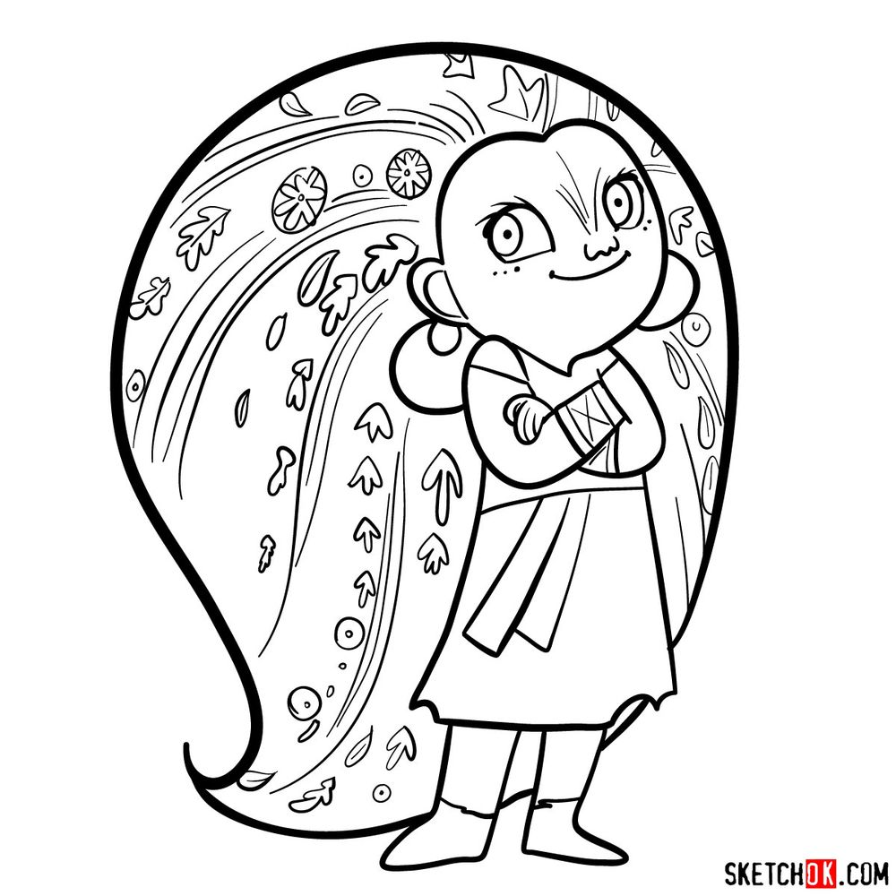 How to draw Mebh Og MacTire