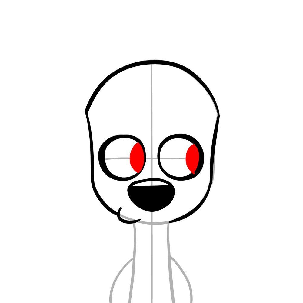 How to draw Dawkins Dalmatian - step 07
