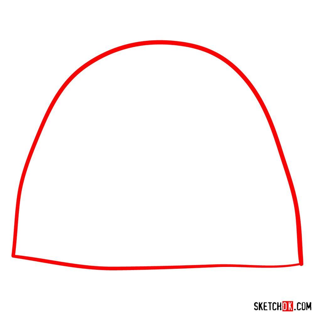 How to draw Tuk Tuk - step 01
