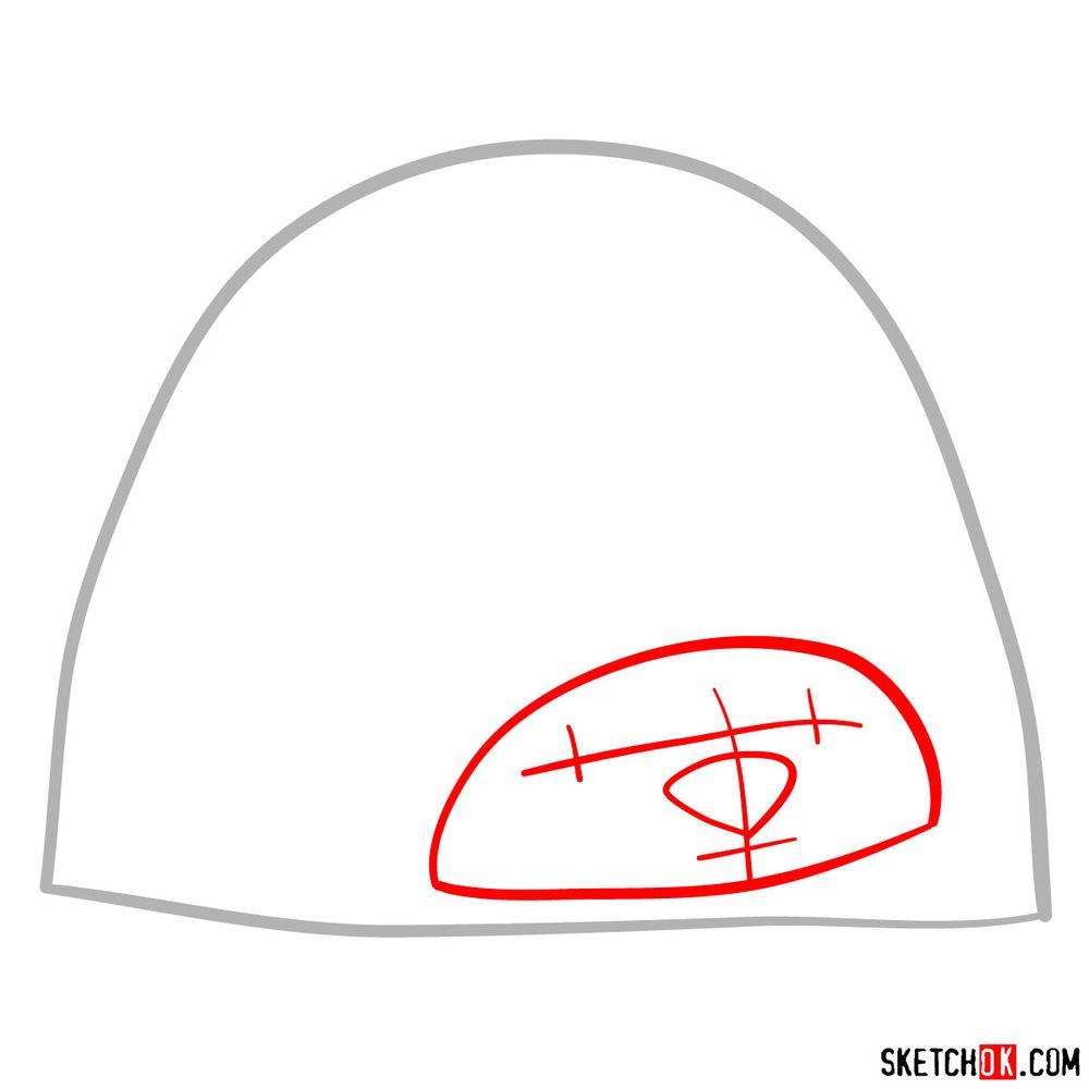 How to draw Tuk Tuk - step 02