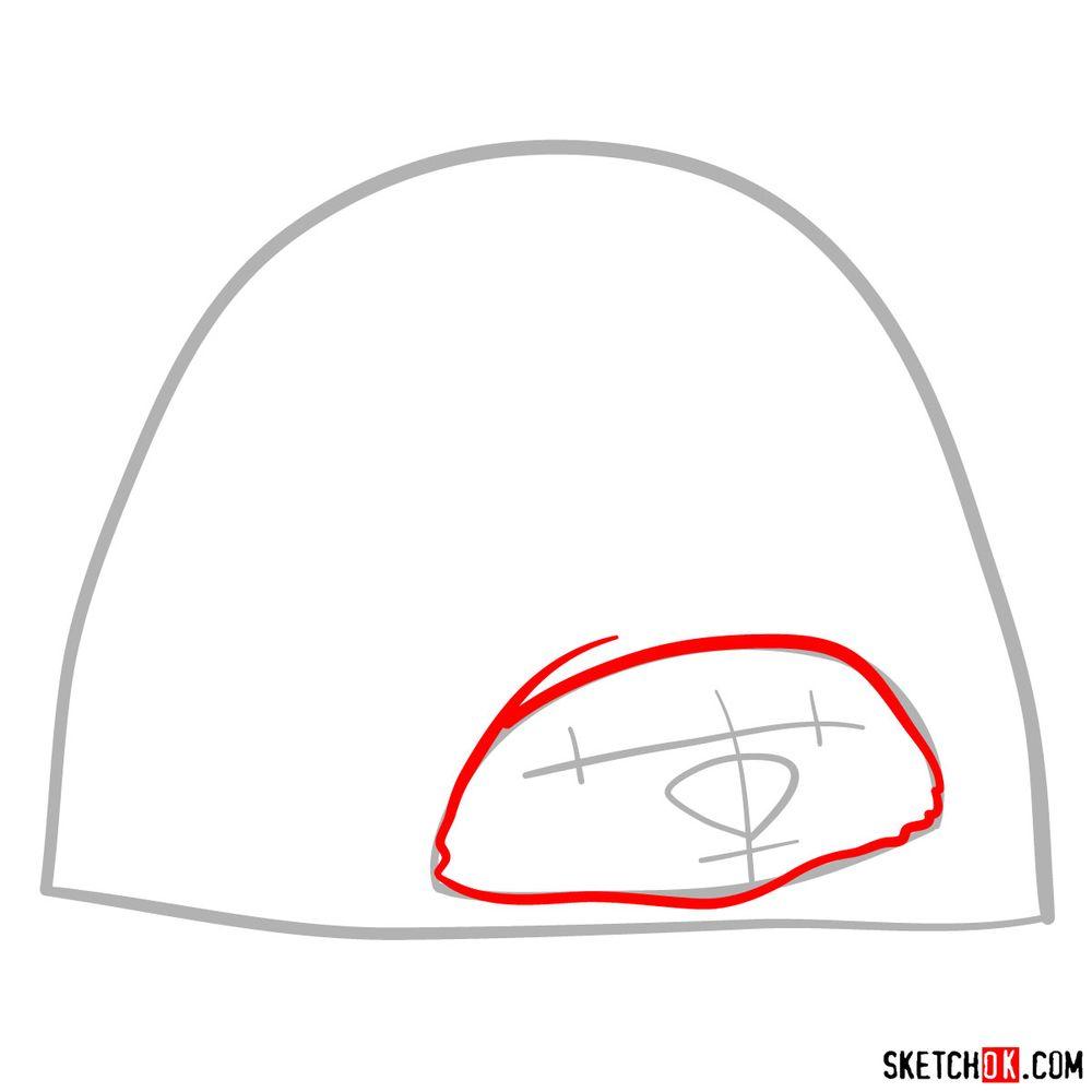How to draw Tuk Tuk - step 03