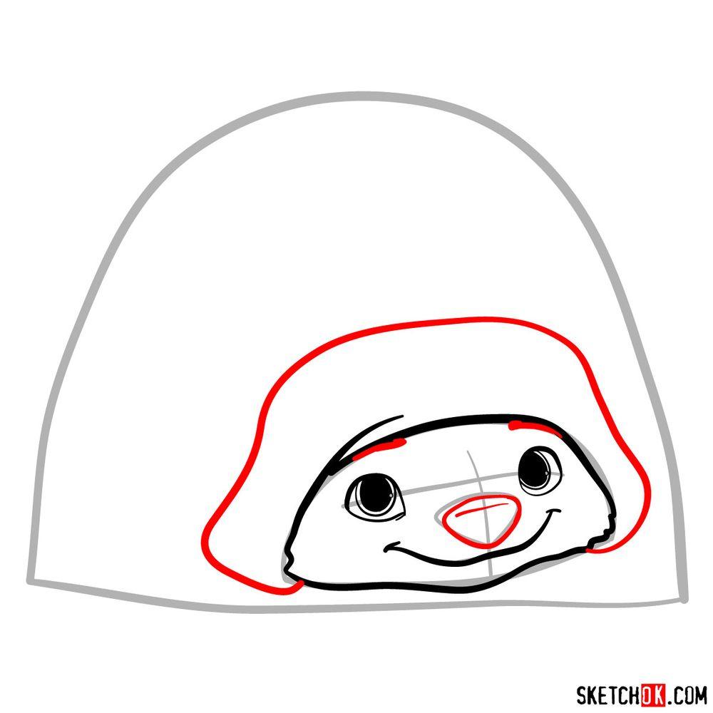 How to draw Tuk Tuk - step 05