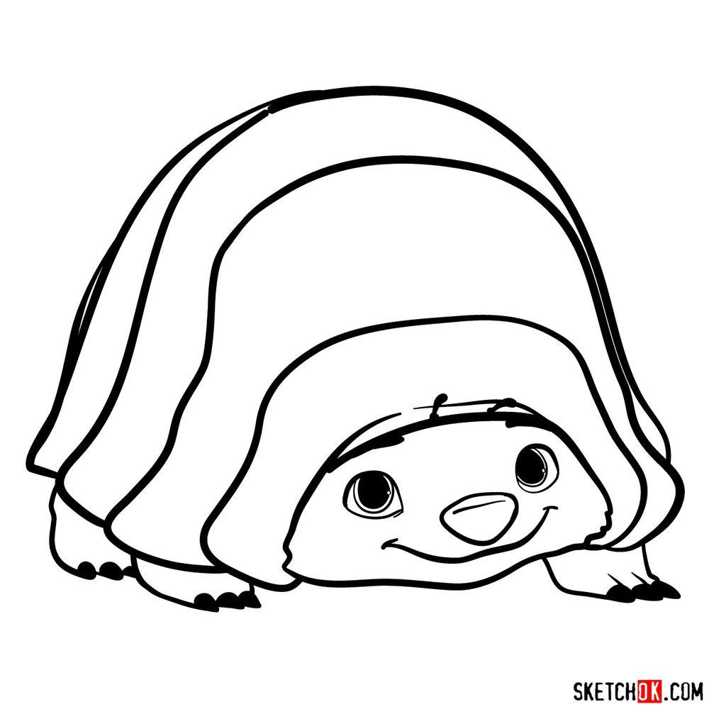 How to draw Tuk Tuk