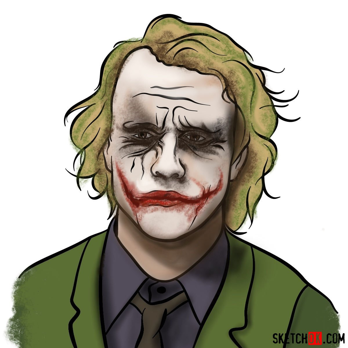 How to  Heath Ledger's Joker