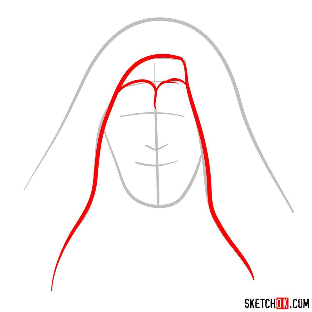 How to draw Palpatine - step 03