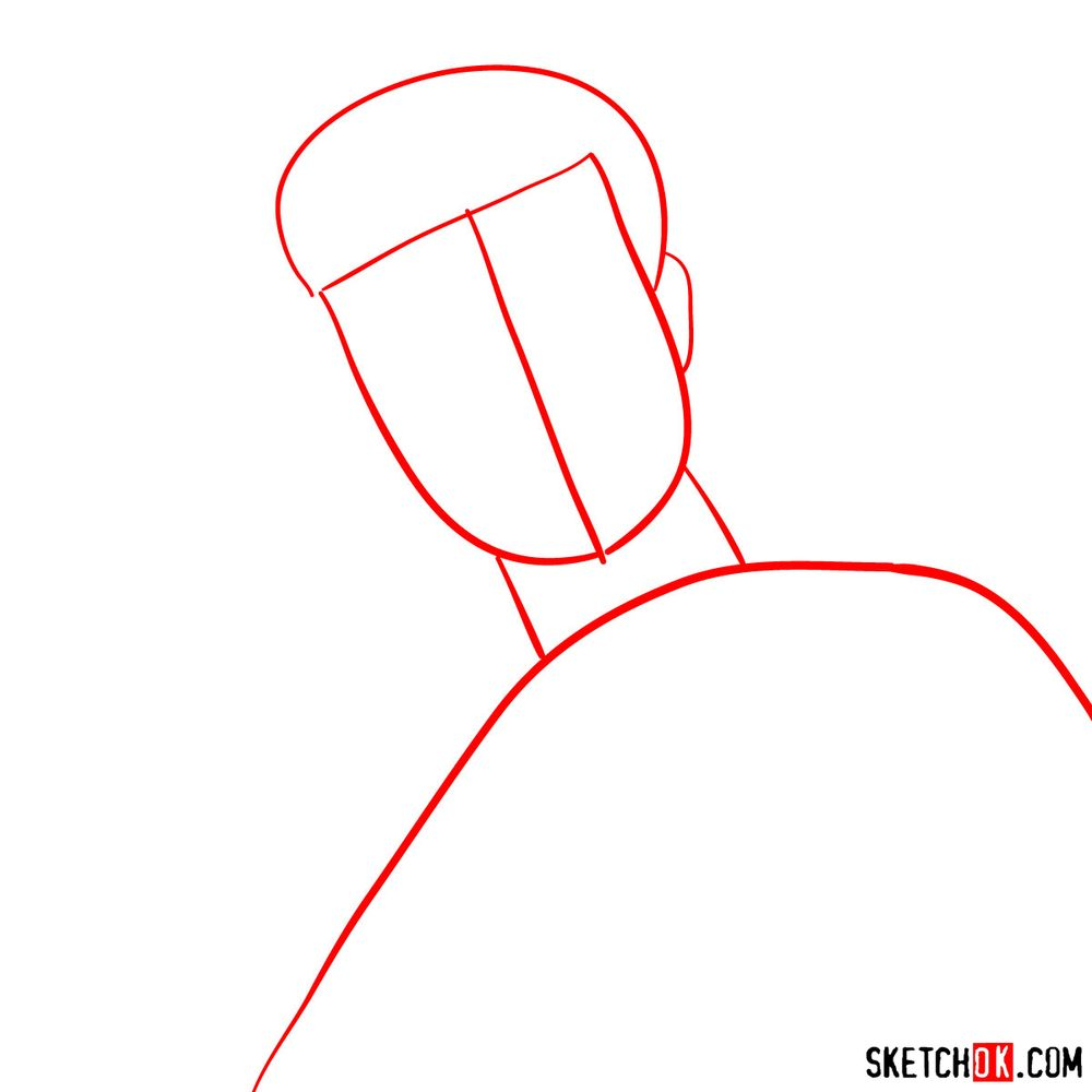 How to draw Max Payne - step 01