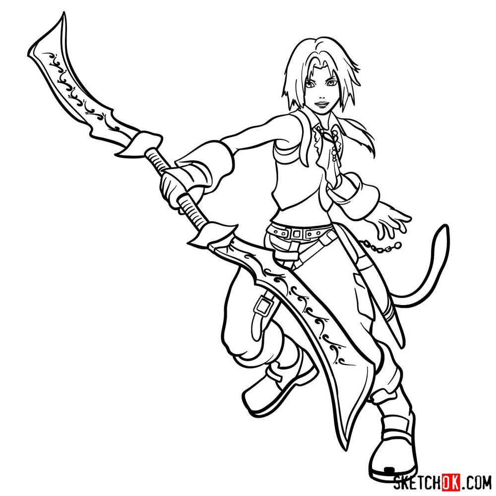 How to draw Zidane Tribal