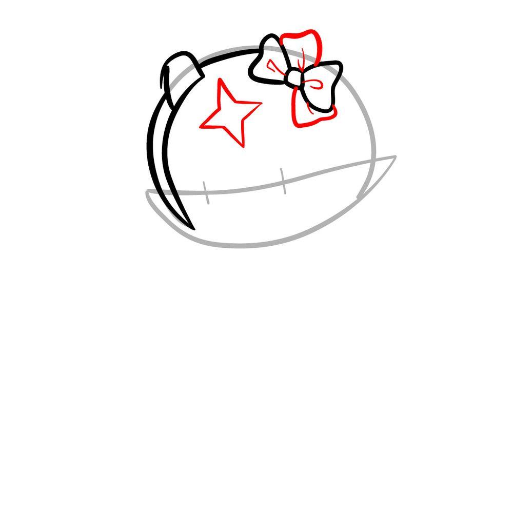 How to draw Mano Aloe - FNF - step 05