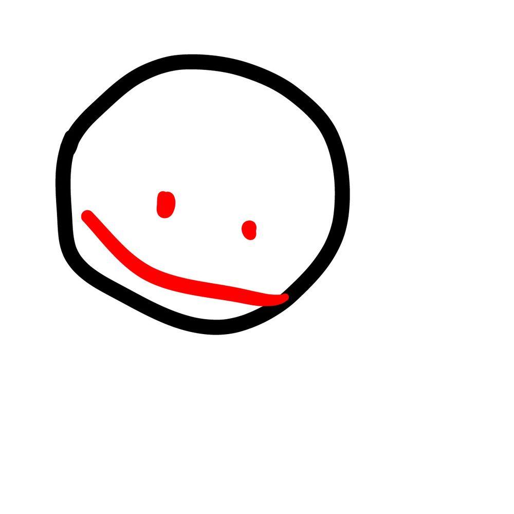 How to draw Bob - FNF - step 02