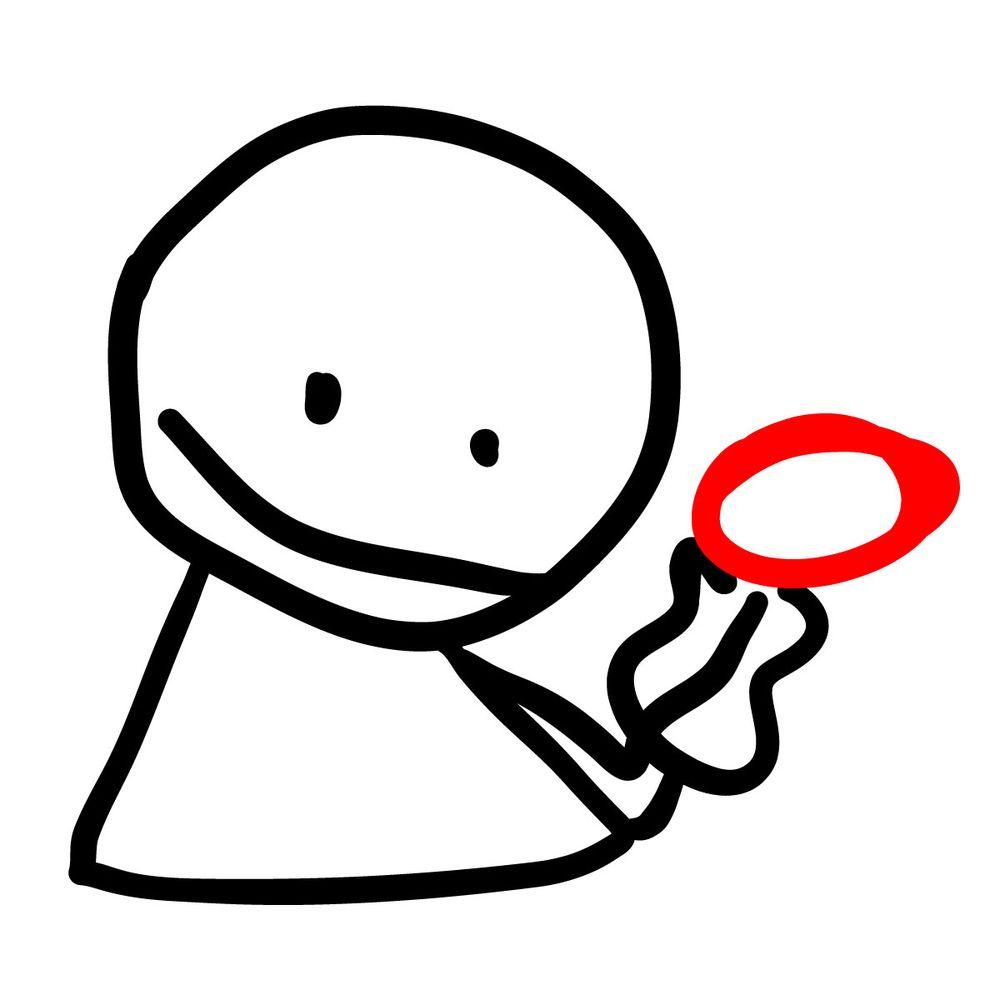 How to draw Bob - FNF - step 06