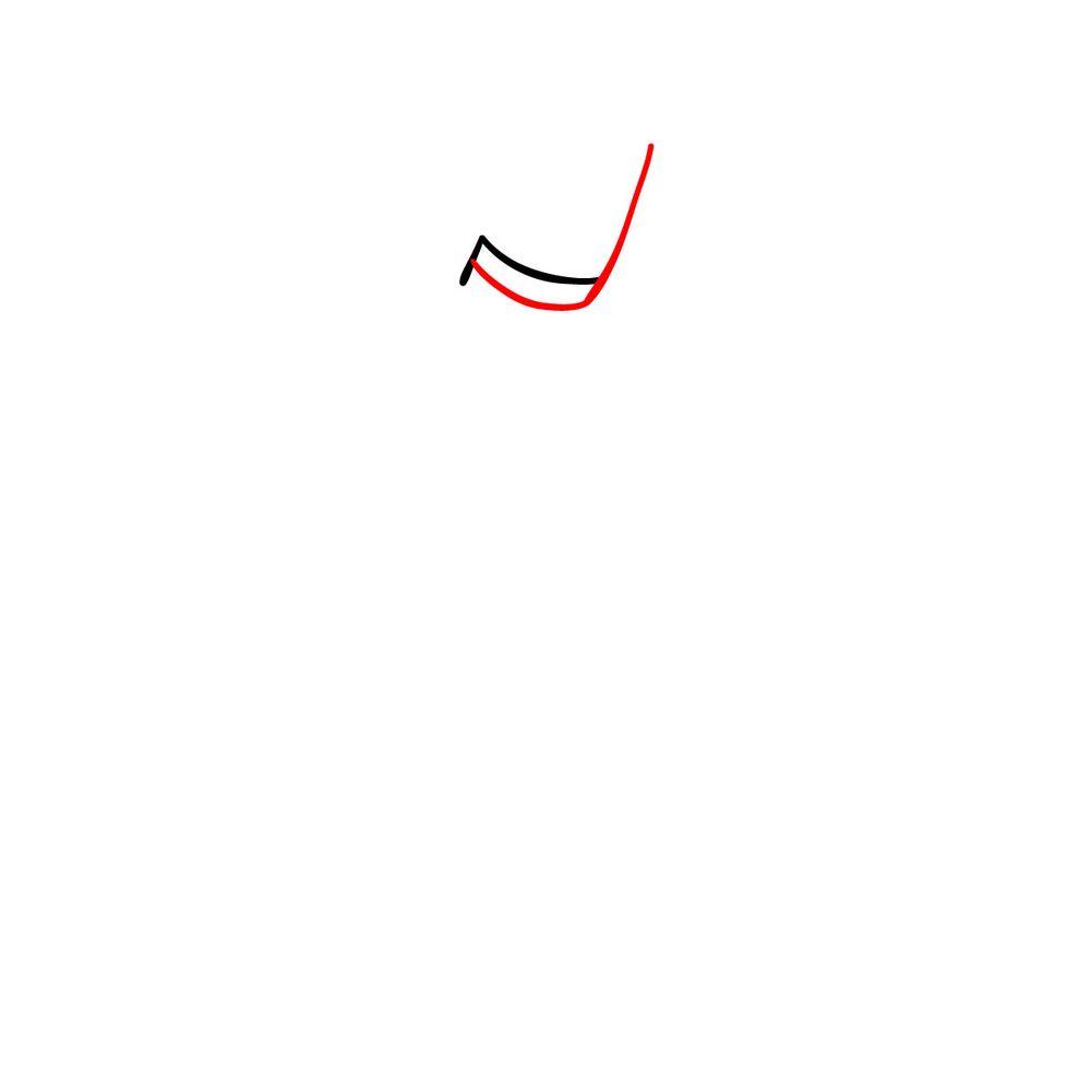 How to draw Agoti - FNF - step 02