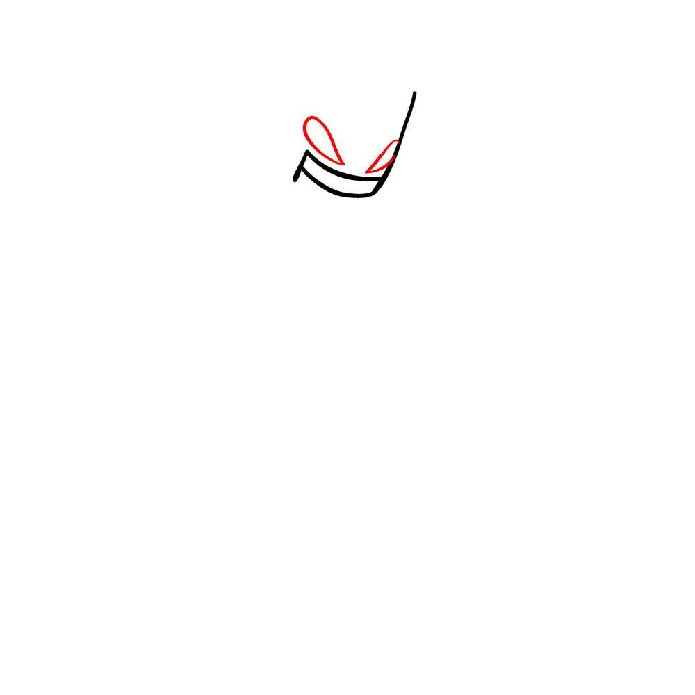 How to draw Agoti - FNF - step 03