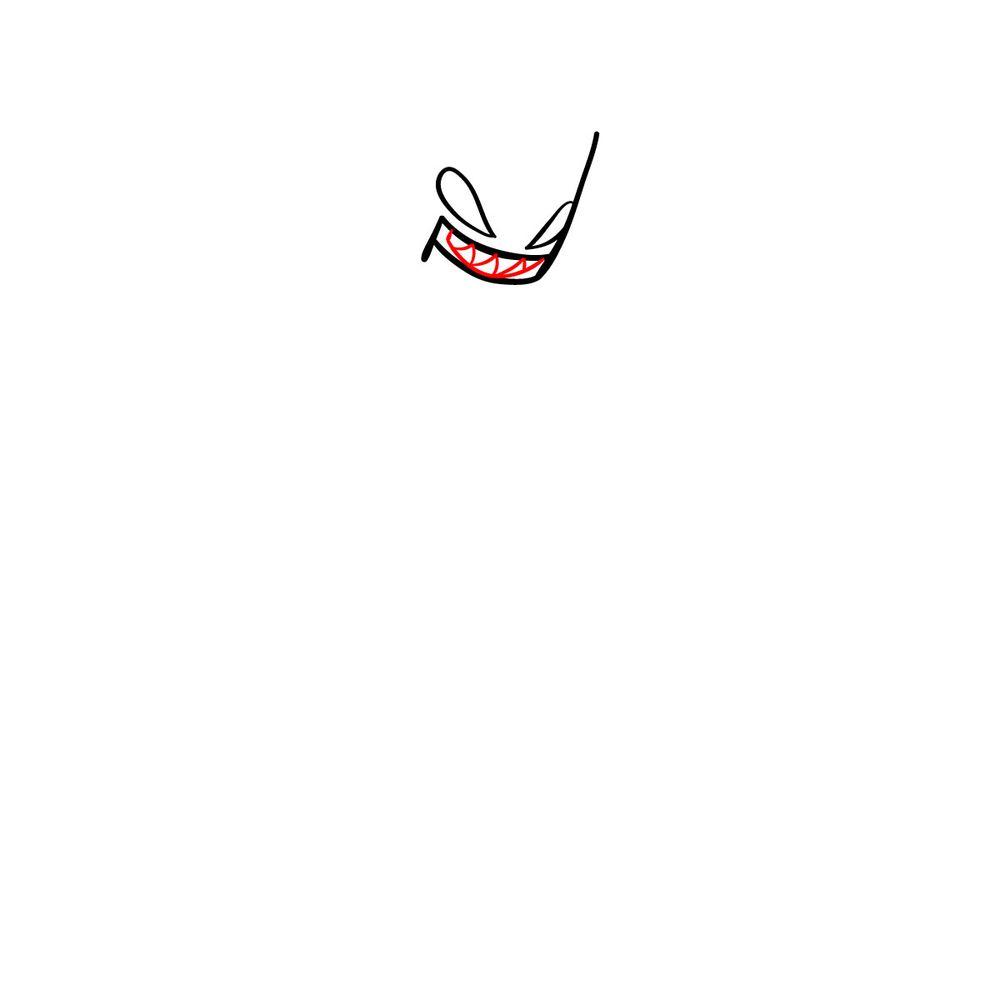 How to draw Agoti - FNF - step 04