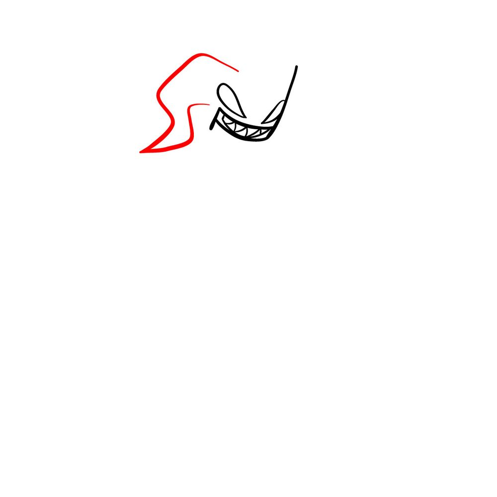 How to draw Agoti - FNF - step 05