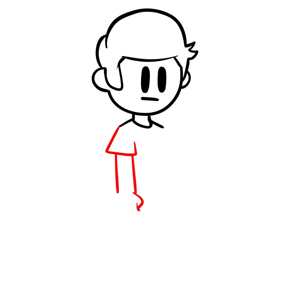 How to draw Nonsense - FNF - step 06