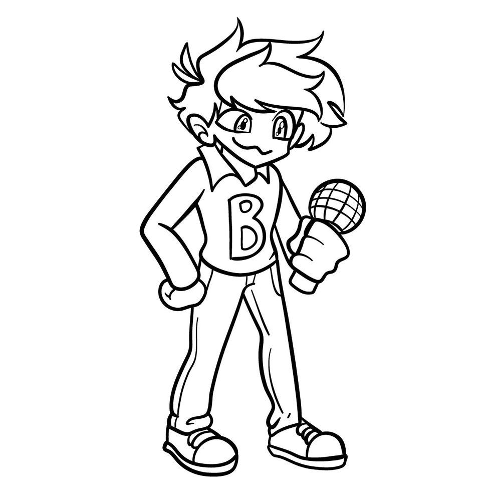 How to draw Bob (Vs. Bob and Bosip)