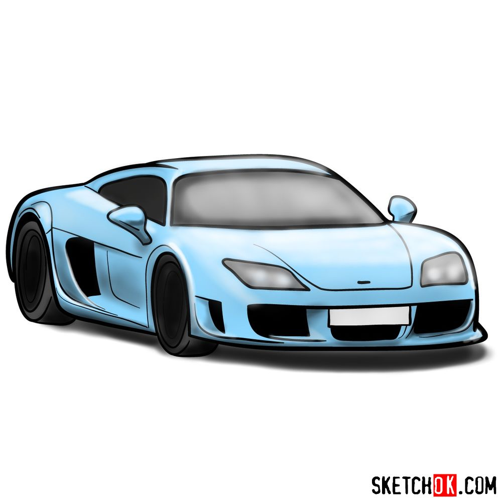 How to draw Noble M600