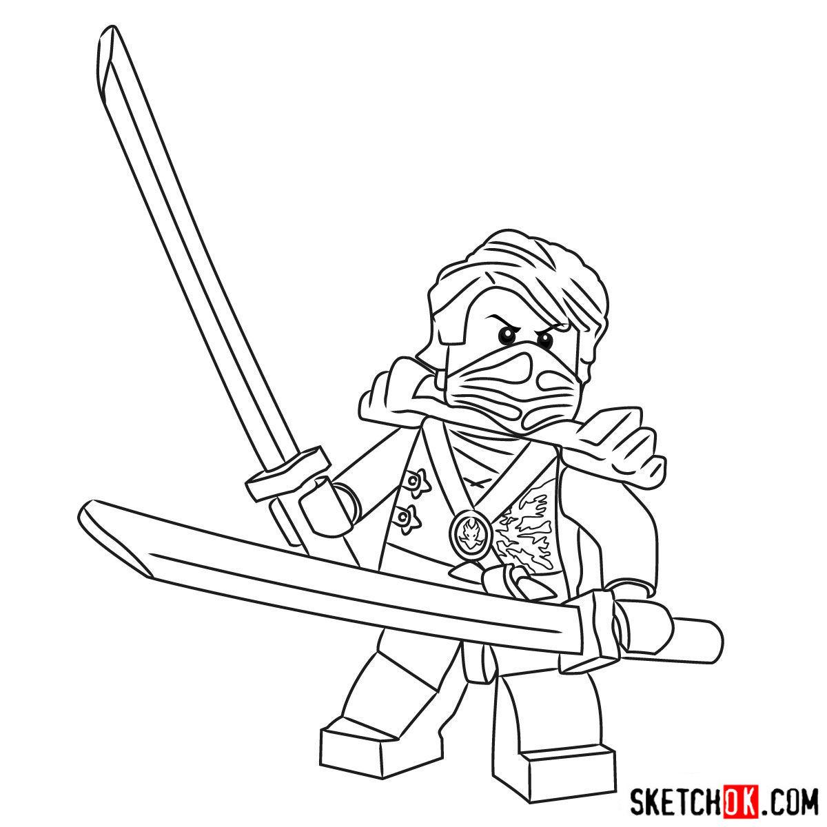 How To Draw Lloyd Garmadon From Ninjago Step By Step Drawing Tutorials