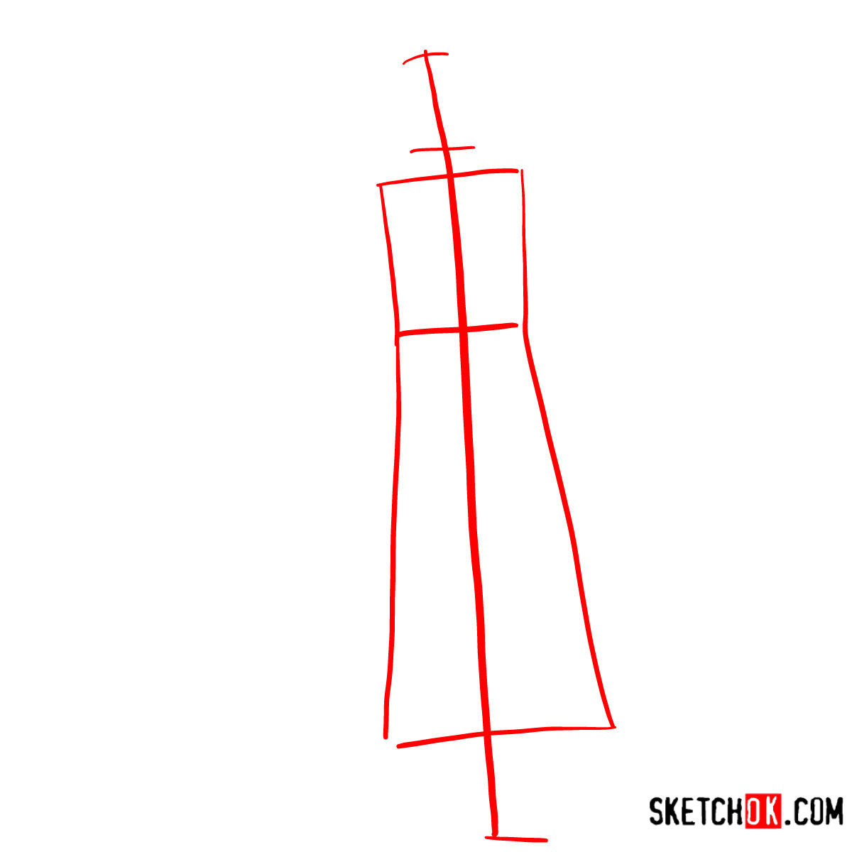How to draw Trafalgar D. Water Law | One Piece - step 01