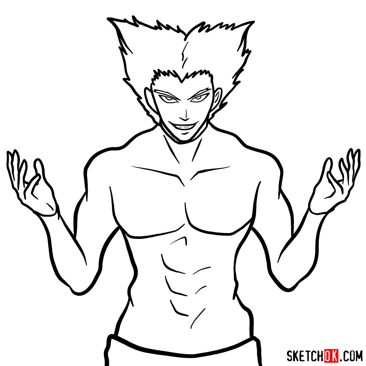 How to draw Garou | One-Punch Man