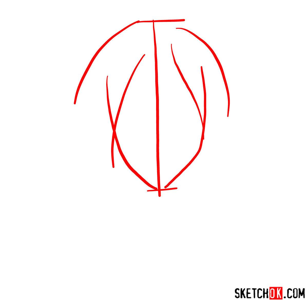 How to draw Nobuchika Ginoza | Psycho Pass - step 01