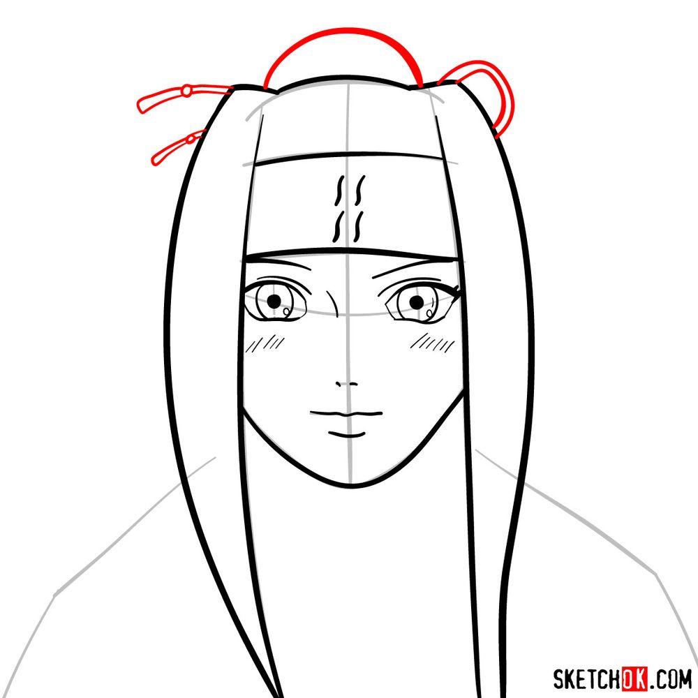 How to draw Haku Yuki - step 07