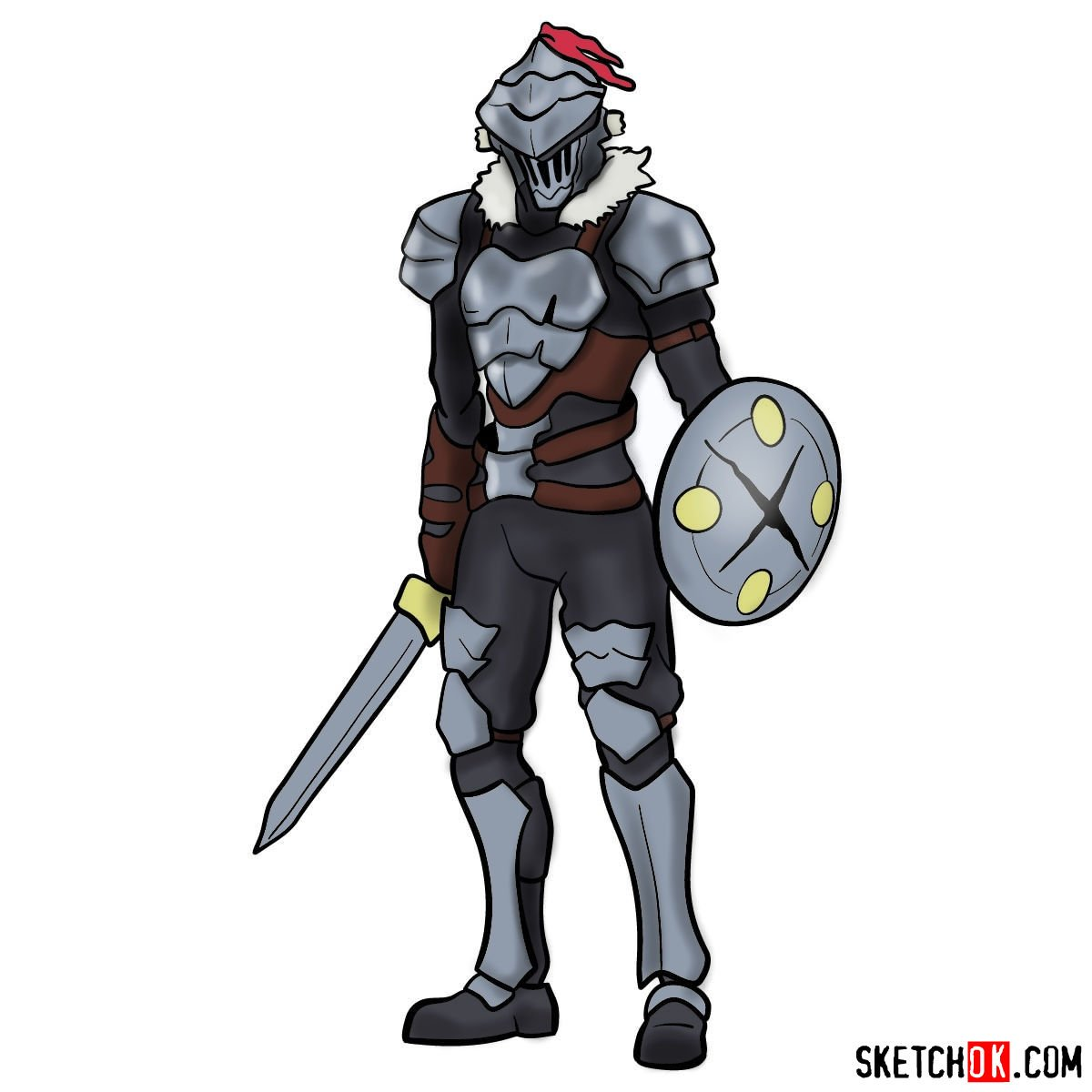 How to draw Goblin Slayer