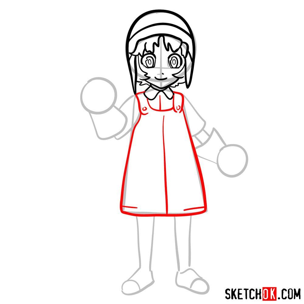 How to draw Reisuke Houjou | Future Diary - step 08