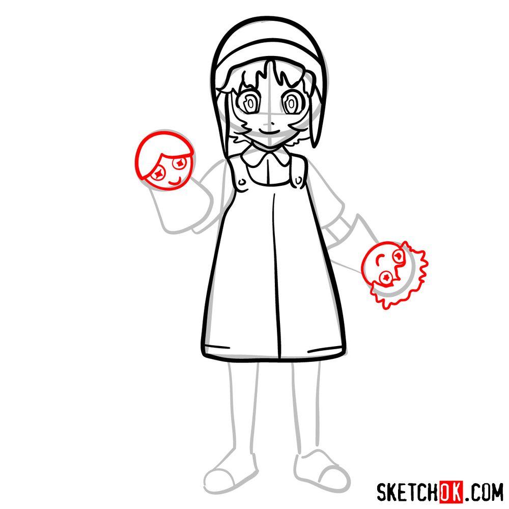 How to draw Reisuke Houjou | Future Diary - step 09