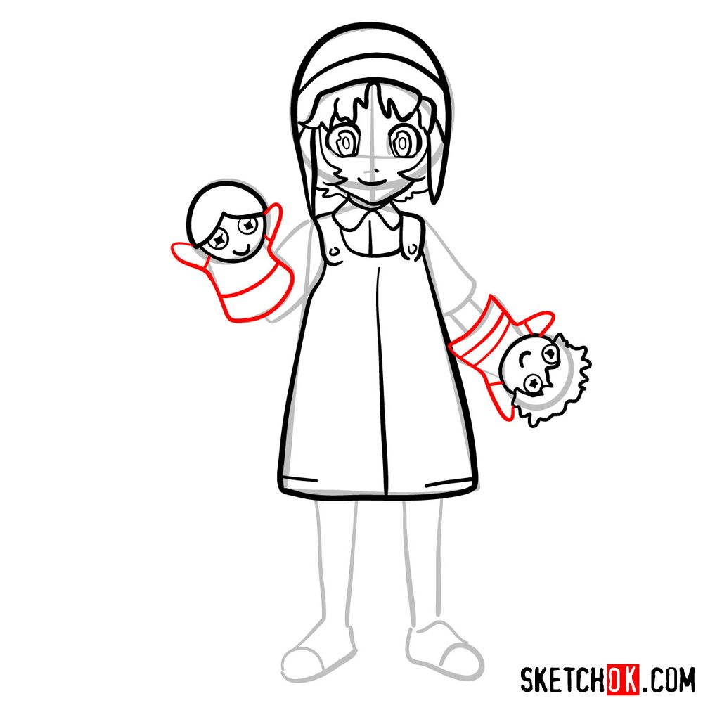 How to draw Reisuke Houjou | Future Diary - step 10