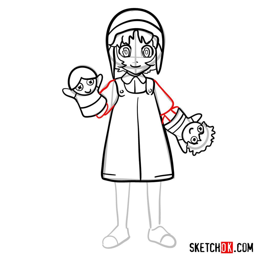 How to draw Reisuke Houjou | Future Diary - step 11