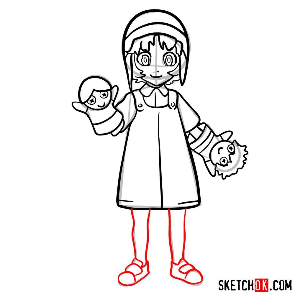 How to draw Reisuke Houjou | Future Diary - step 12