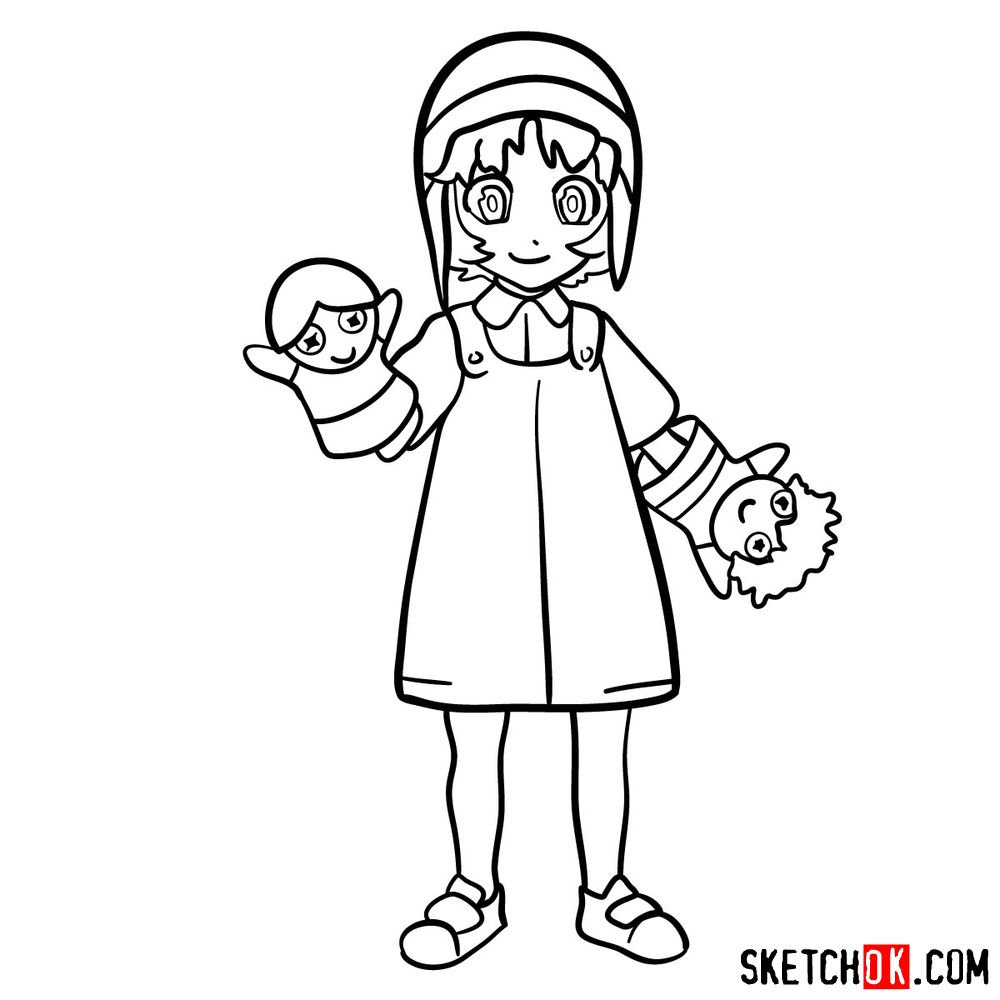 How to draw Reisuke Houjou | Future Diary - step 13