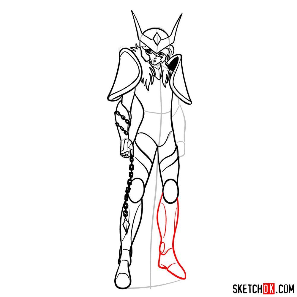 How to draw Andromeda Shun - step 13
